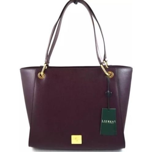 Ralph Lauren Agdon Tote, Port – MSRP $268