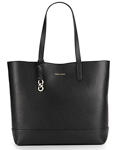 Cole Haan Palermo Tote Shoulder Bag, Black, One Size