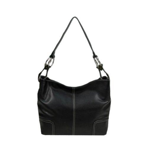 Tosca Hand Bag Handbag Purse 640 – (multiple colors), Black