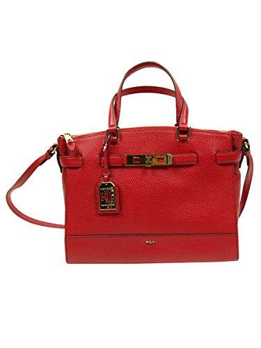 Lauren By Ralph Lauren Women's Handbag Darwin Leather Satchel