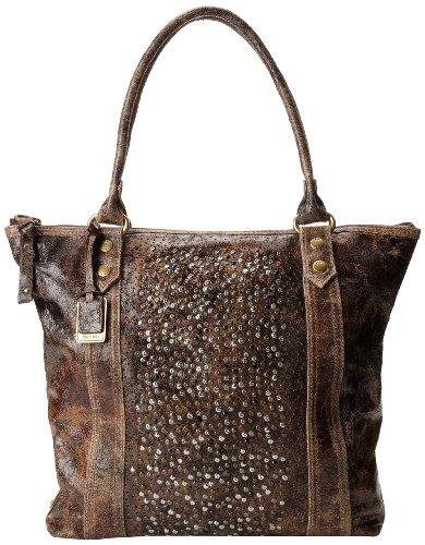 FRYE Deborah Zip Tote Handbag