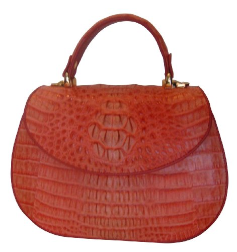 Dorine – Crocodile Skin Handbag – Custom Order