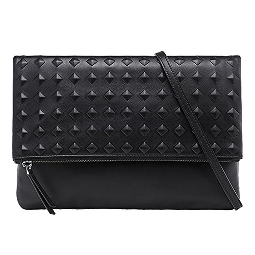 2015 AW MCM Authentic MINI BAG PROJECT (TANTRIS) Medium Clutch Bag – Black MWC5AMI03BK