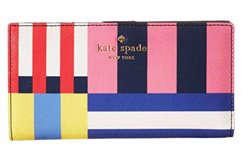 kate spade new york Cedar Street Flag Stripes Stacy Wallet