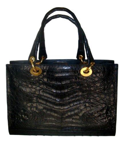 Daphne – Genuine Crocodile Belly Skin Handbag