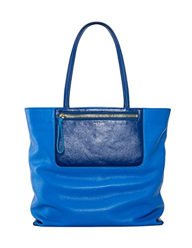 Isaac Mizrahi Designer Handbags: Leather Lillie Tote