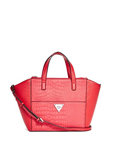 GUESS Women's Idolize Croc-Embossed Satchel