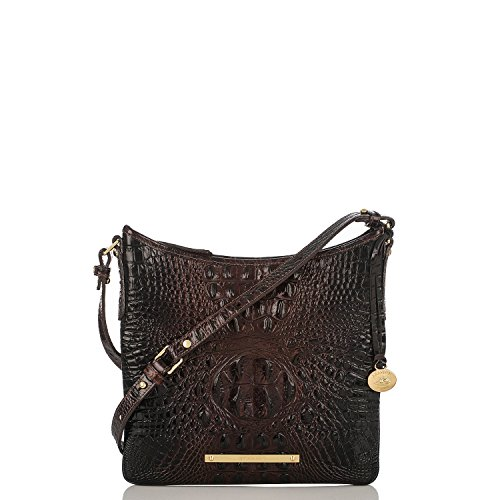 Brahmin Jody Cocoa Melbourne Leather Crossbody Bag