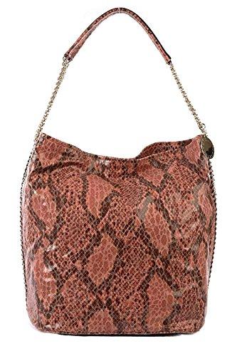 Stella Mccartney women's shoulder bag original hobo brown