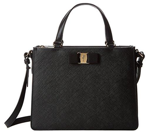 Salvatore Ferragamo Women's Tracy Calfskin Leather Handle Bag