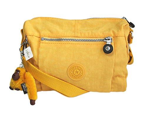 Kipling Wes Messenger Shoulder Bag in Golden Poppy