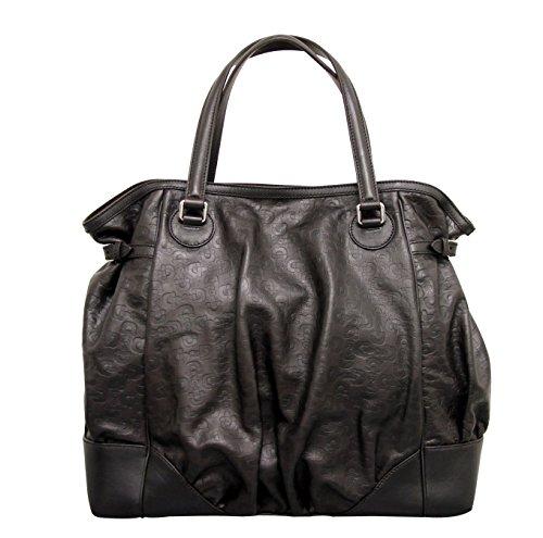 Gucci Brown Leather Full Moon Tote Bag Horsebit Large Handbag 257290 2038