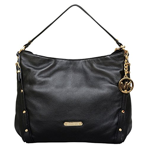 MICHAEL Michael Kors Large Leigh Convertible Shoulder Bag in Black