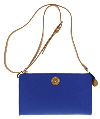 Tory Burch Pebbled Texture Shoulder Bag Crossbody Purse in Jelly Bean