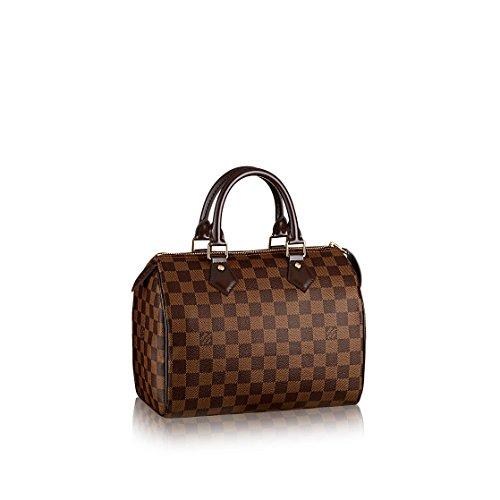 Louis Vuitton Damier Ebene Canvas Speedy 25 N41365