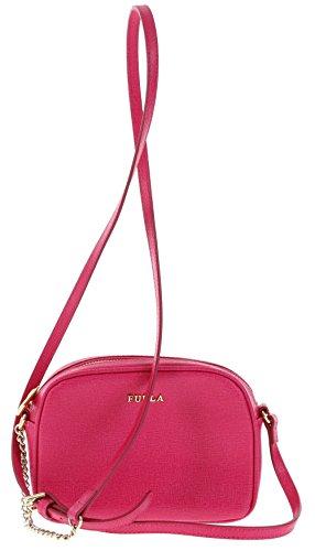 Furla MIKY Saffiano Leather Crossbody/Shoulder Handbag Purse in Gloss