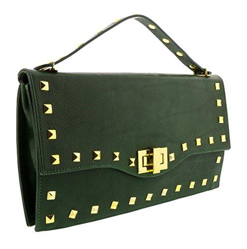 HS3651 CIARA Leather Clutch/Shoulder Bag