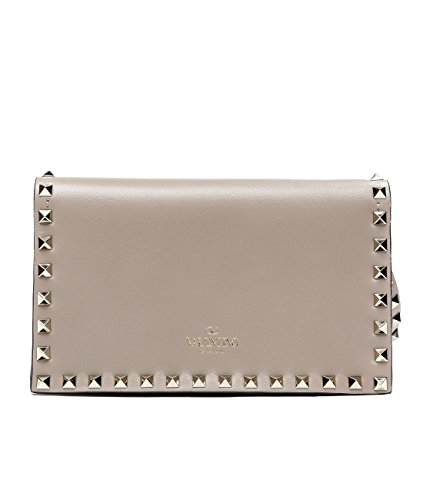 Wiberlux Valentino Women's Rockstud Detailed Clutch