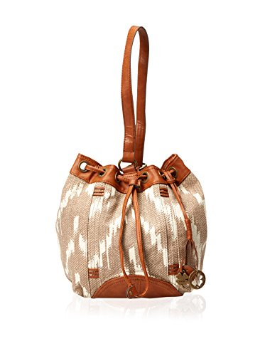 Lucky Brand Womens Bali Hai Sling Purse Oyster