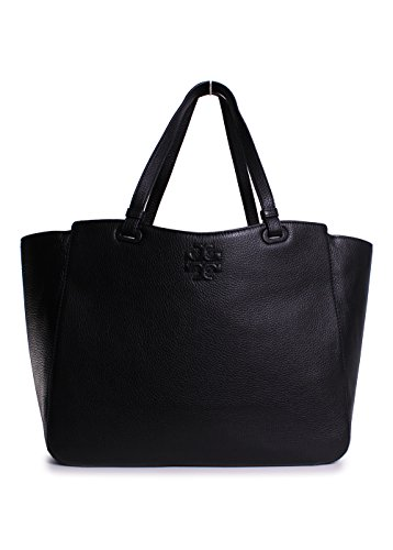 Tory Burch Thea Baby Bag Tote in Black