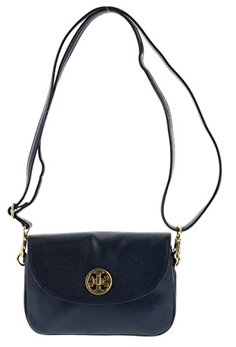 Tory Burch Robinson Saffiano Leather Crossbody Bag and Clutch in Hudson Bay