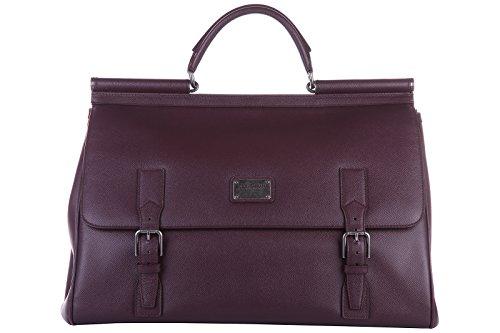 Dolce&Gabbana travel duffle weekend shoulder bag purple