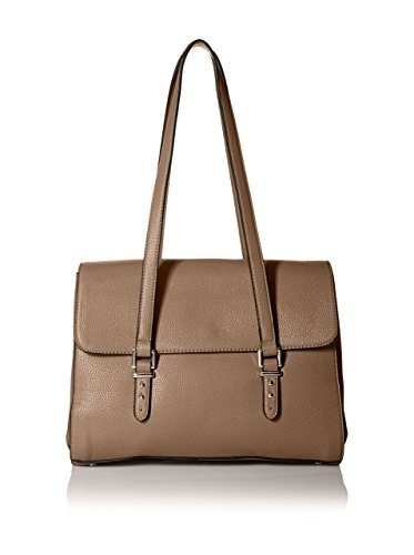 SOCIETY NEW YORK Women's Satchel Bag, Taupe