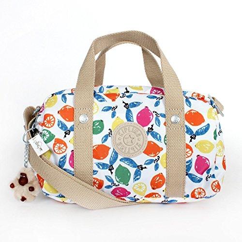 Kipling Daniella Satchel Crossbody Handbag Citrus Smash