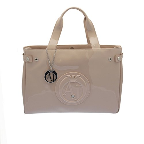 Armani Jeans Handbag Top Handle Light Rose