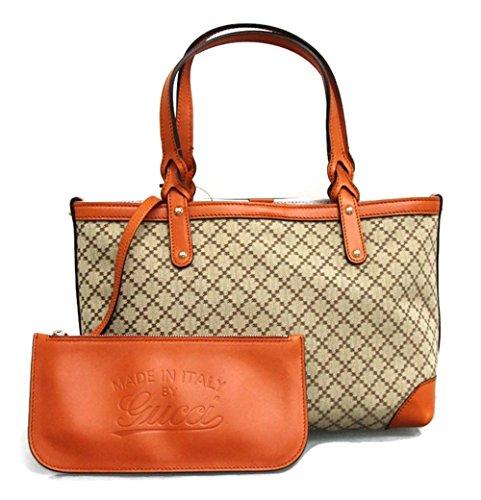 Gucci Gg Canvas Diamante Tote Bag Craft Handbag 269878