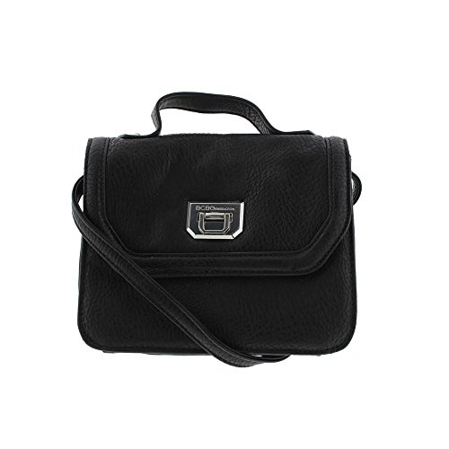 BCBGeneration Womens Faux Leather Convertible Shoulder Handbag