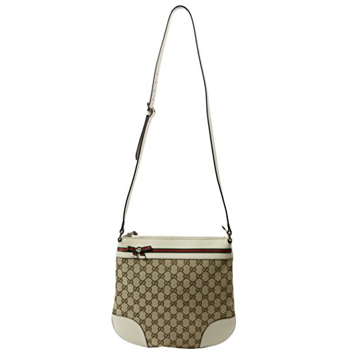 Gucci Guccissima Signature Canvas Crossbody Shoulder Bag