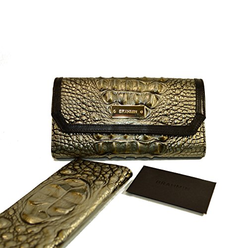 Brahmin Soft Checkbook Wallet Mystic Melbourne Clutch