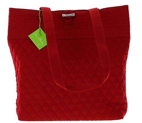 Vera Bradley Tote Shoulder Bag Handbag in Tango Red