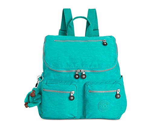 Kipling Womens Georgina Backpack Brilliant Jade