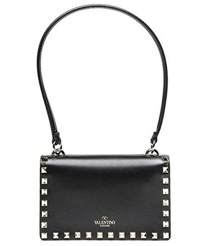 Wiberlux Valentino Women's Rockstud Real Leather Shoulder Bag