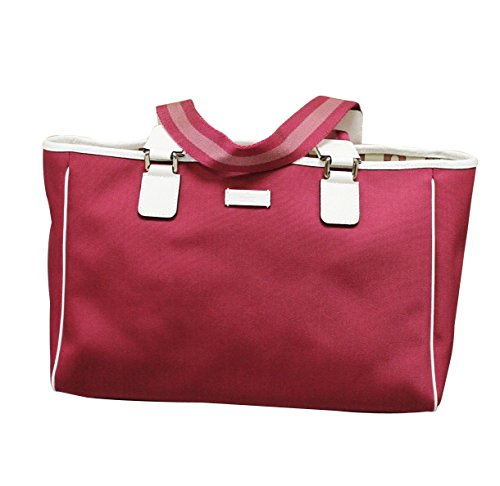 Gucci Fuschia Hot Pink Tote Handbag 264216