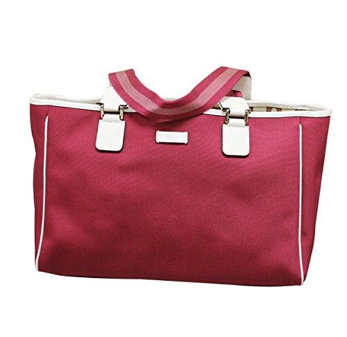 Gucci Fuschia Hot Pink Tote Handbag 264216