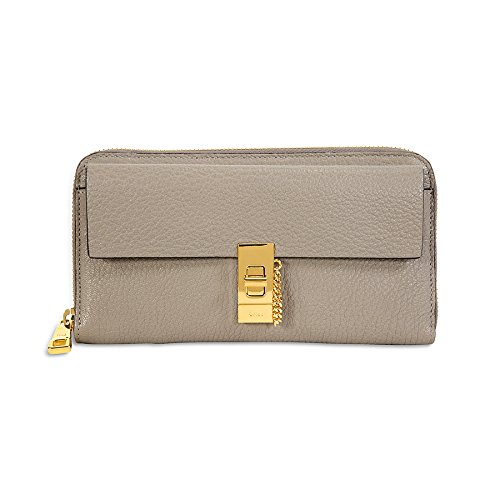 Chloe Drew Long Zipped Wallet – Motty Grey