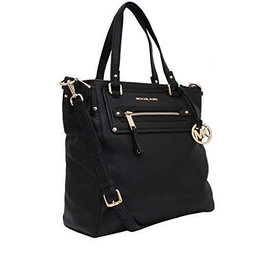 Michael Kors Large Gilmore Leather Tote Black