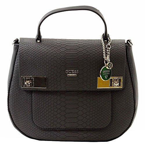 GUESS Milo Leopard-Print Top Handle Bag