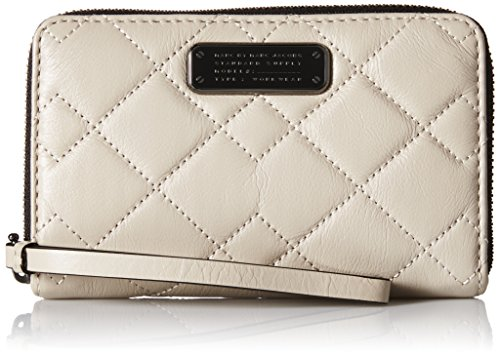 Marc by Marc Jacobs Crosby Quilt Leather Wingman Wristlet
