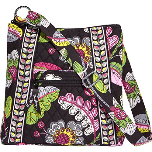 Vera Bradley Hipster Crossbody Bag (Moon Blooms)