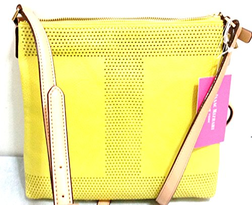 Isaac Mizrahi New York Handbag Crossbody Color Maize