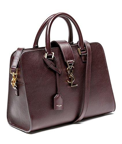 Wiberlux Saint Laurent Women's Gold Logo Two-Way Carry Tote Bag
