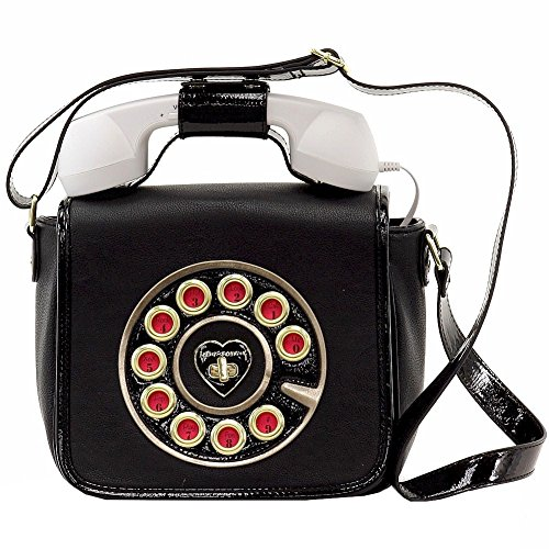 Betsey Johnson Call Me Baby Phone Cross Body Bag