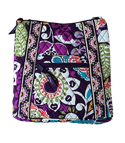 Vera Bradley Hipster in Plum Crazy with Solid Plum Interior