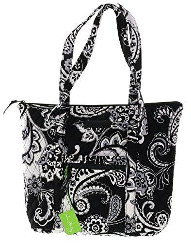 Vera Bradley Villager Handbag Shoulder Bag Tote in Midnight Paisley