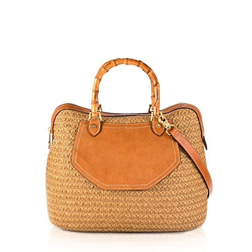 Eric Javits Designer Women's Maxime Handbag (Natural)