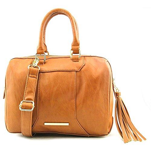Steve Madden DO258305 Women Faux Leather Satchel